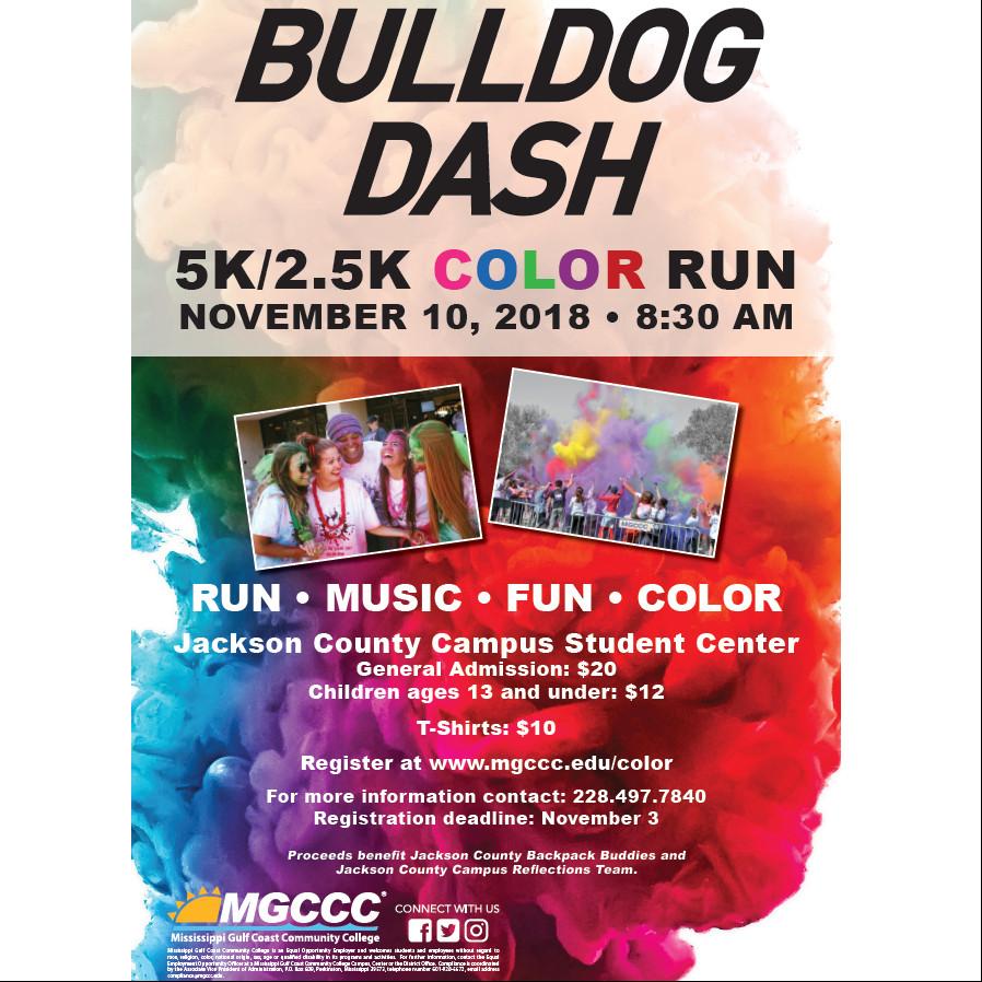 2018 Mgccc Bulldog Dash Color Run 2018 Race Roster