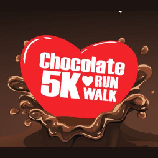 Now thru the 28th ♥ Virtual Chocolate 5K Run/Walk ♥
