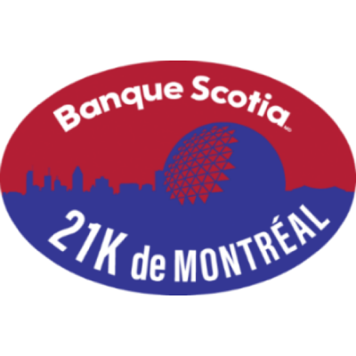 Banque Scotia 21K de Montreal Course Virtuelle 2021