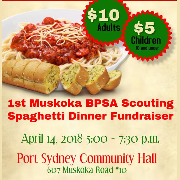 2018 1st muskoka bpsa scouting spaghetti dinner race roster
