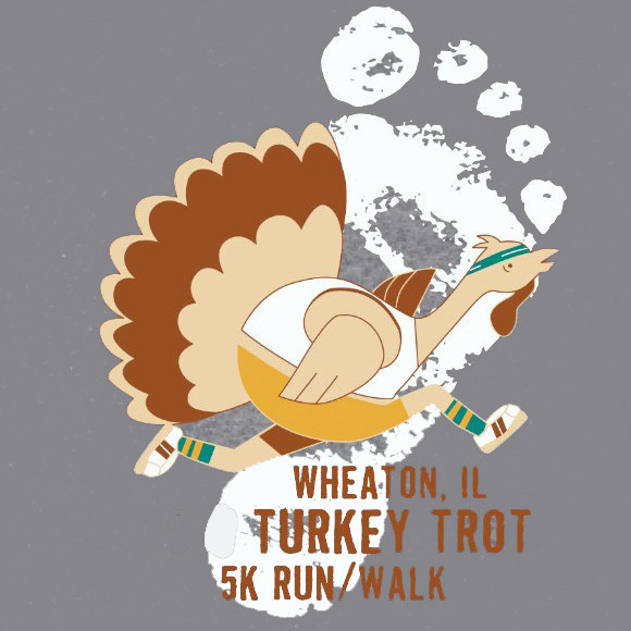 family team sign up leaderboard wheaton il turkey trot 5k run