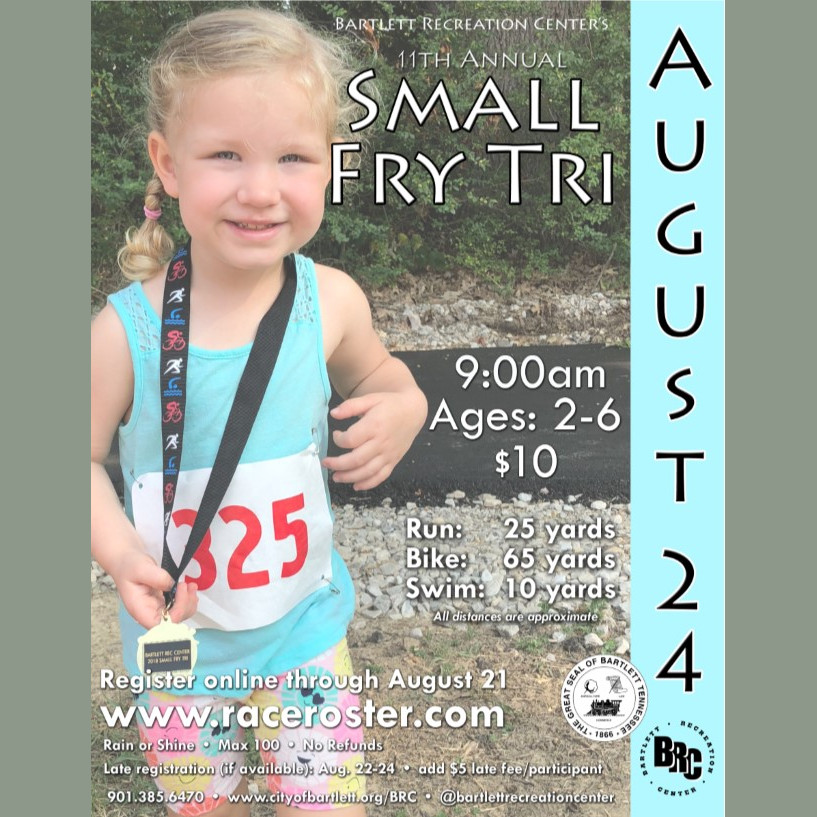 2019 — Bartlett Recreation Center - Small Fry Tri — Race Roster