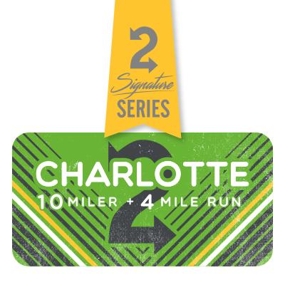 Charlotte 10 Miler and 4 Mile Run