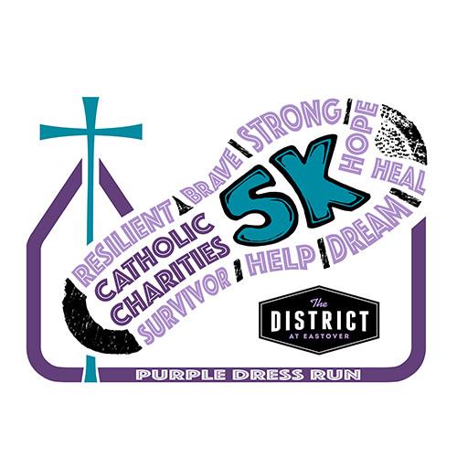 Purple Dress Run Donate To Catholic Charities Inc Domestic