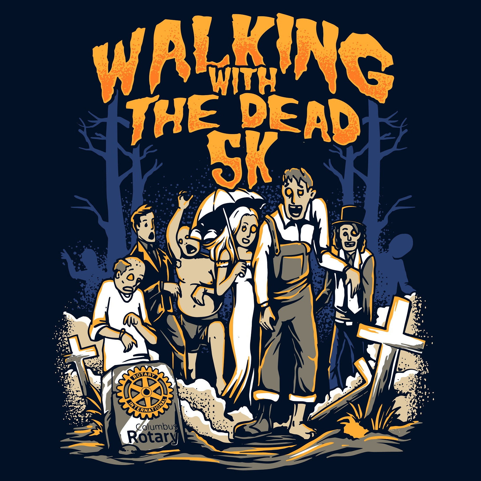 2019 — Walking With The Dead 5K and 1 Mile Run/Walk — Race