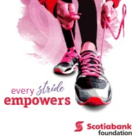 2017 — Scotiabank Women Against Breast Cancer 5k — Race