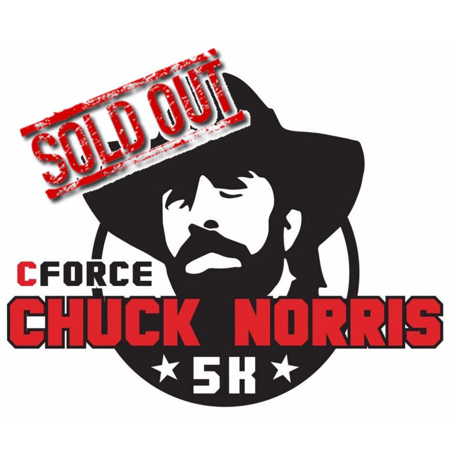 CFORCE CHUCK NORRIS 5K — Race Roster