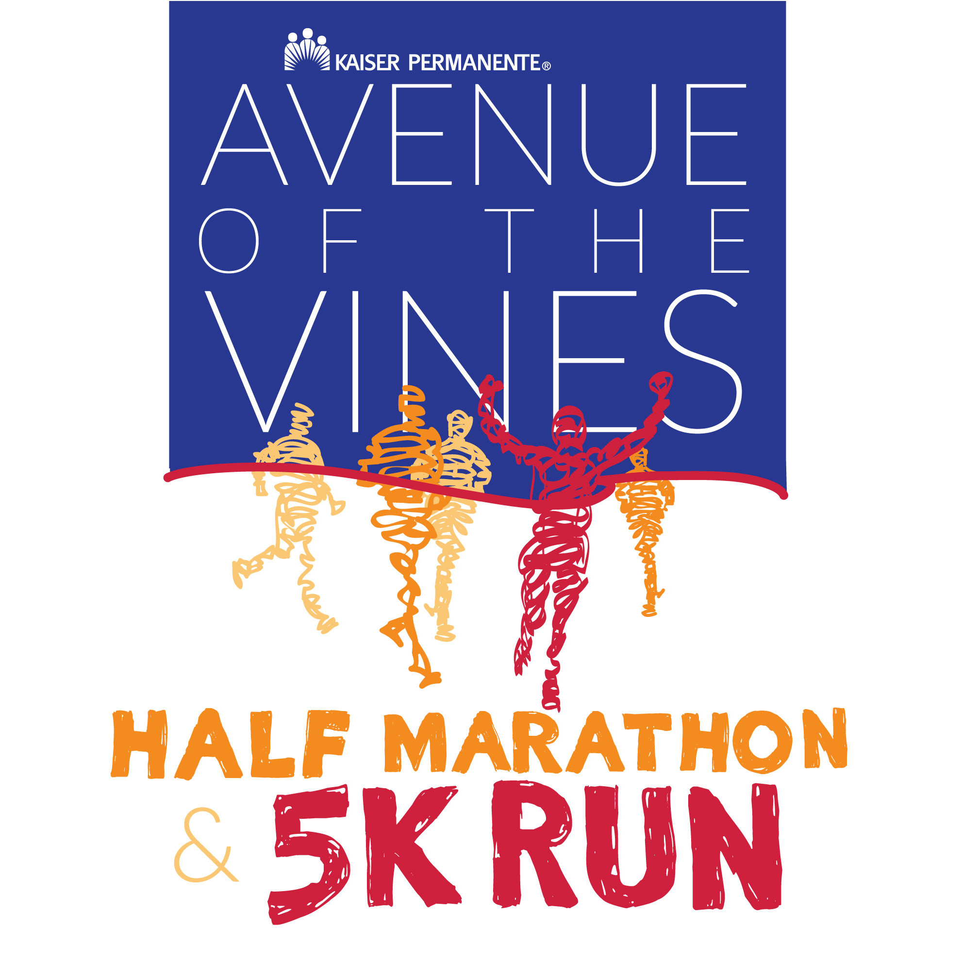 2019 — Kaiser Permanente Avenue of the Vines Half Marathon &