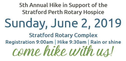 2019 — Hike for Hospice Perth County 2019 — Race Roster