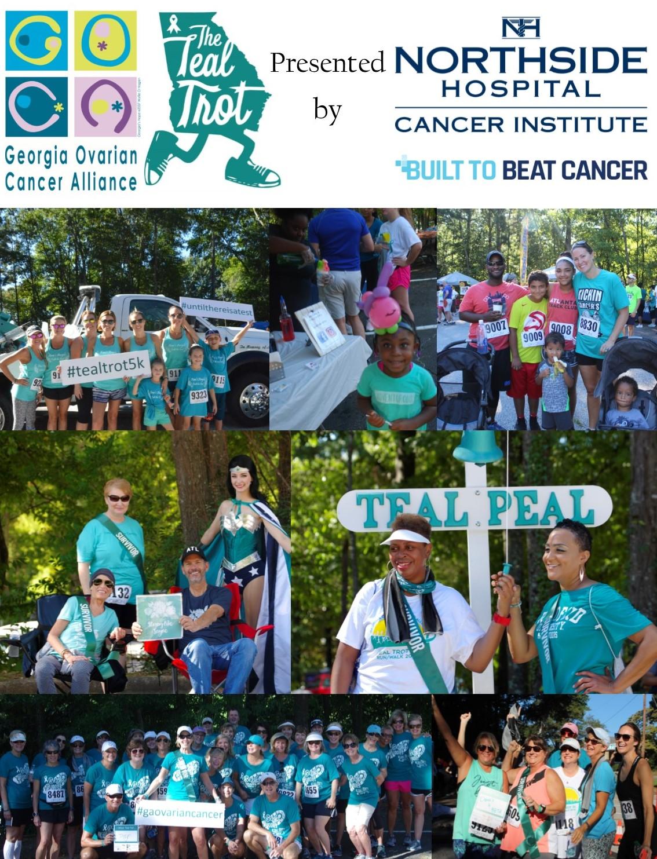2019 Georgia Ovarian Cancer Alliance Teal Trot 5k Walk Run Race Roster Registration Marketing Fundraising