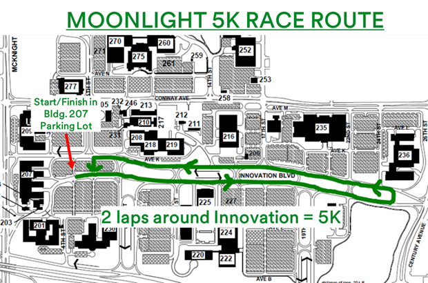 3m maplewood campus map 2019 Moonlight 5k Race Roster Registration Marketing 3m maplewood campus map