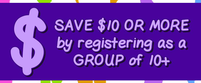 Register as a group and save $$