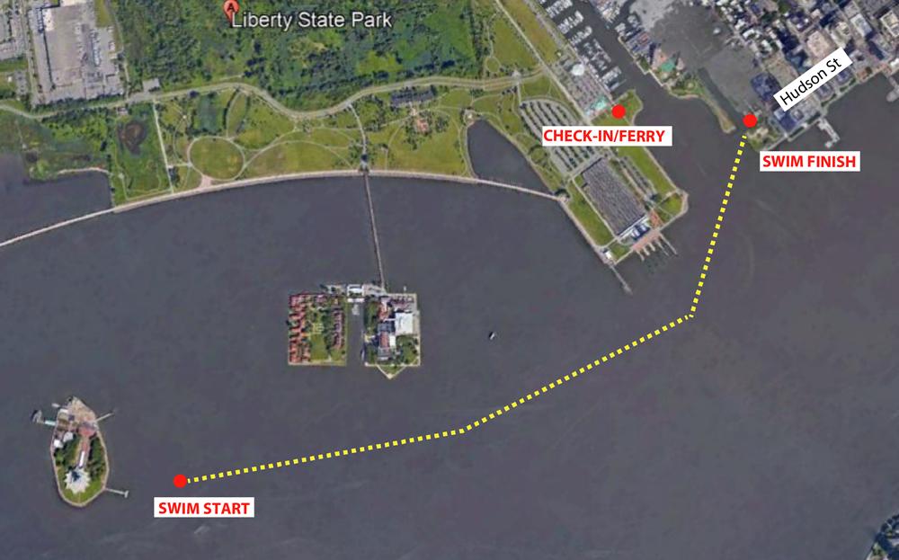 2019 Lady Liberty Sharkfest Swim