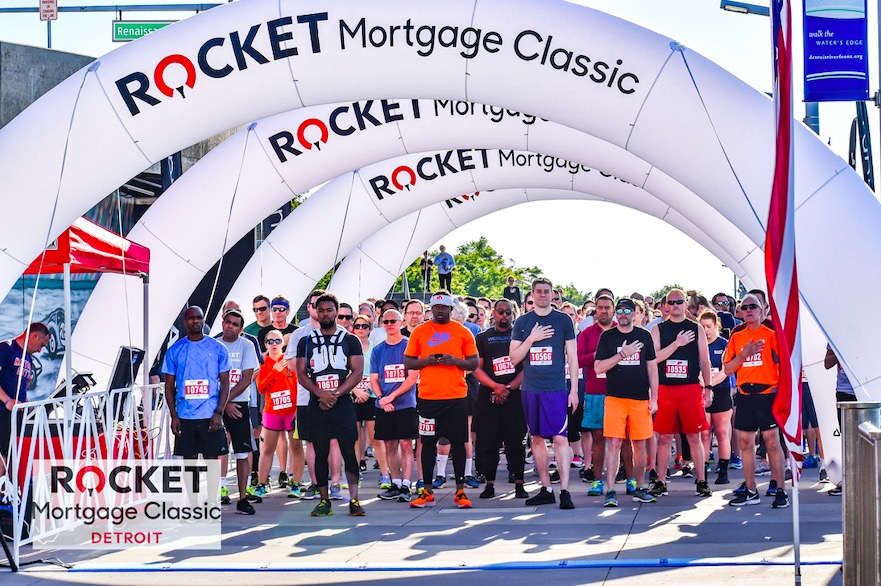 2019 — Rocket Mortgage Classic 5K — Race Roster