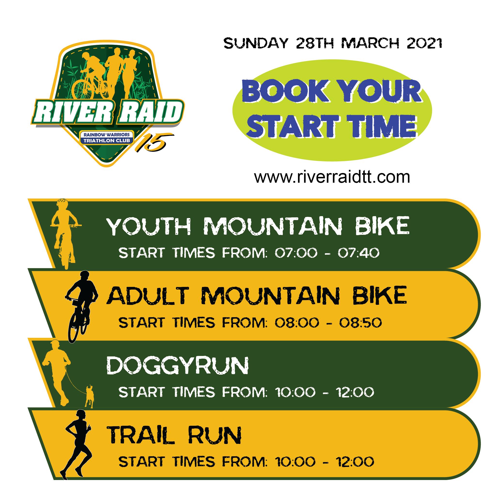 River Raid 2021 Mountain Bike Trail Run DoggyRun