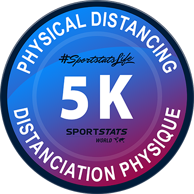 physical distancing 5k