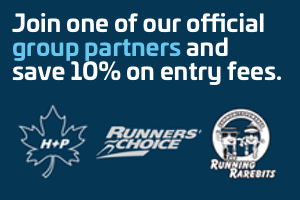 Join one of our official group partners and save 10% on entry fees. Health and Performance. Runners' Choice. Running Rarebits.