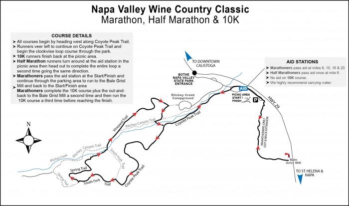 2019 — 2019 Napa Wine Country Marathon, Half Marathon & 10K