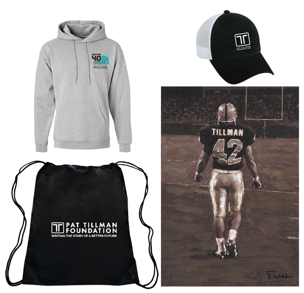 Pat Tillman Fundraising Items