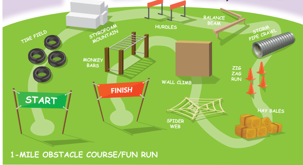 how to train for a 5k obstacle course