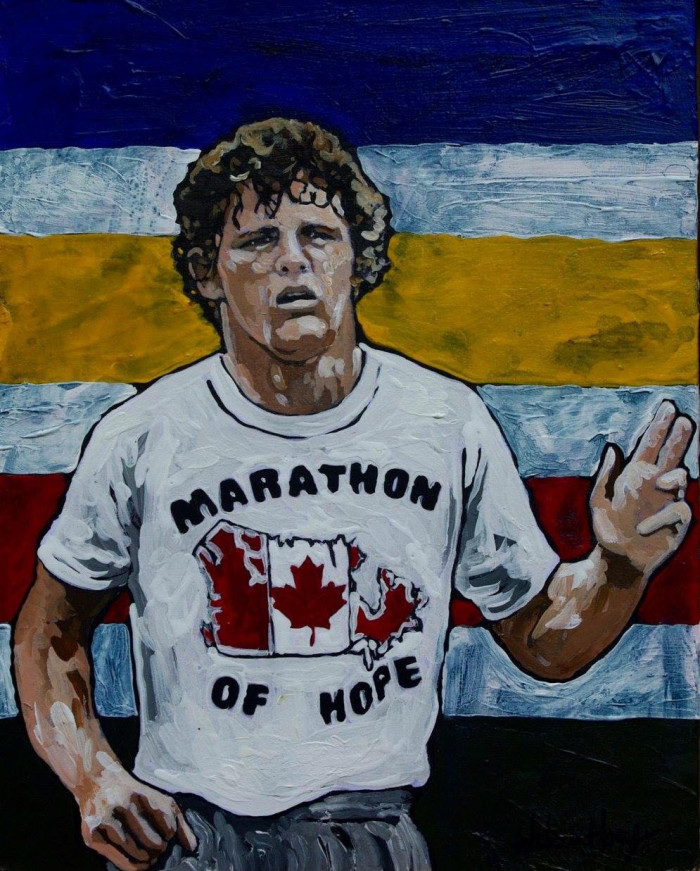 O Canada  Paintings By Timothy Wilson Hoey