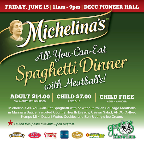 Michelina's All-You-Can-Eat Spaghetti Dinner
