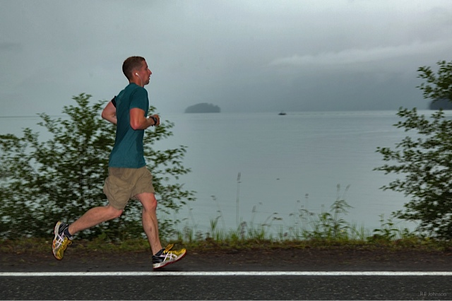Running along the Inside Passage