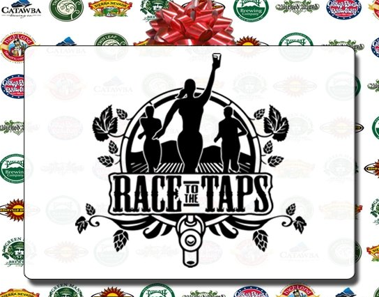 Race to the taps logo