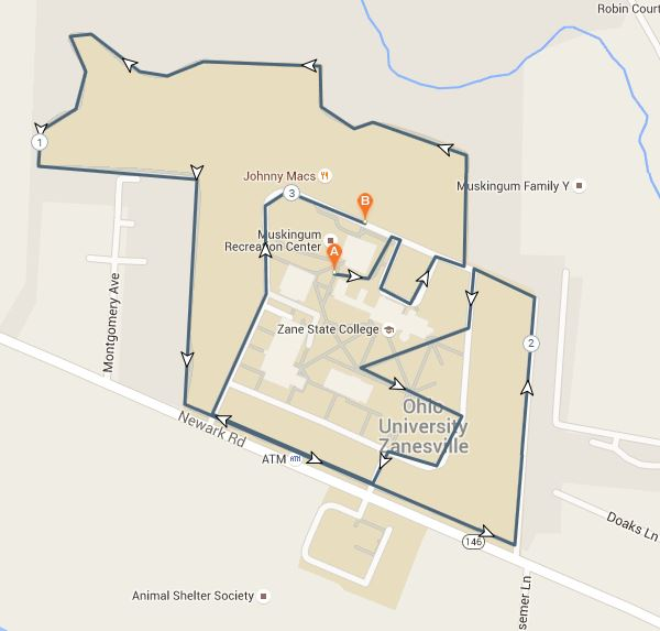 Map Of Zane State College Usa Show Maps Images: Map Of Zane State College At Usa Maps
