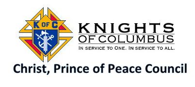 Knights of Columbus, Christ, Prince of Peace Council 12986