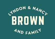 Lyndon & Nancy Brown and Family