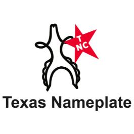 Texas Nameplate