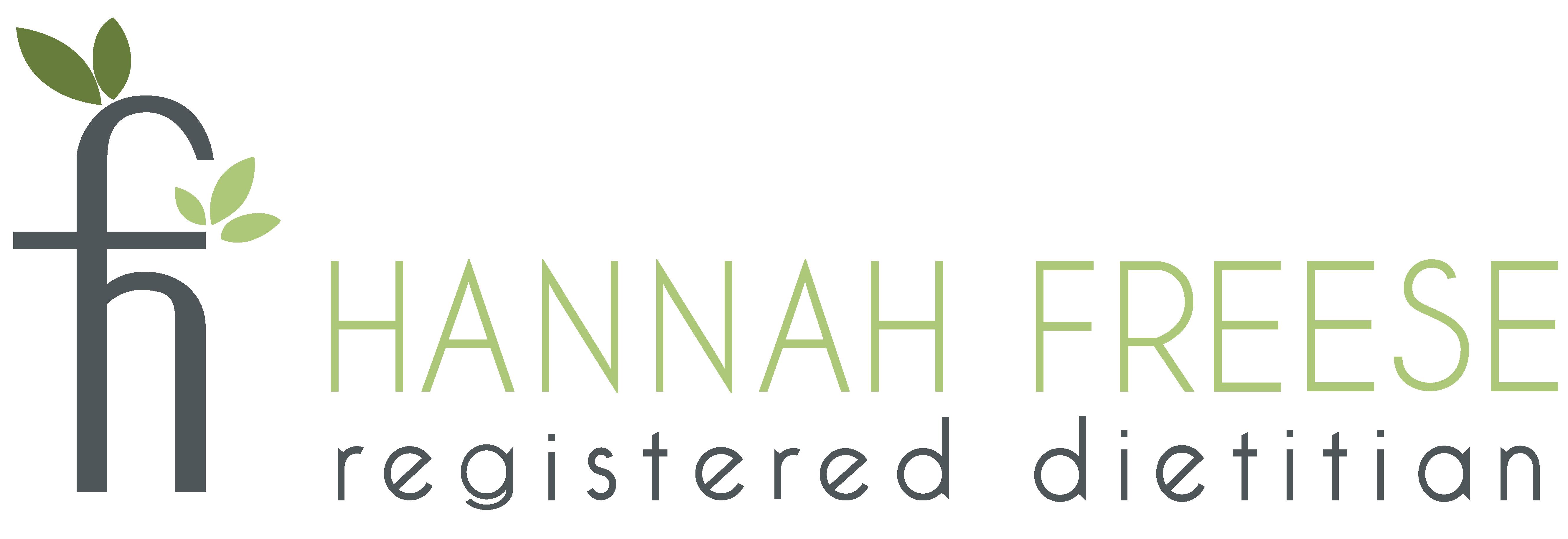 Hannah Freese, Registered Dietitian