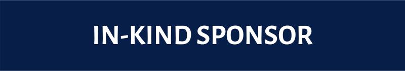 | IN-KIND SPONSOR |
