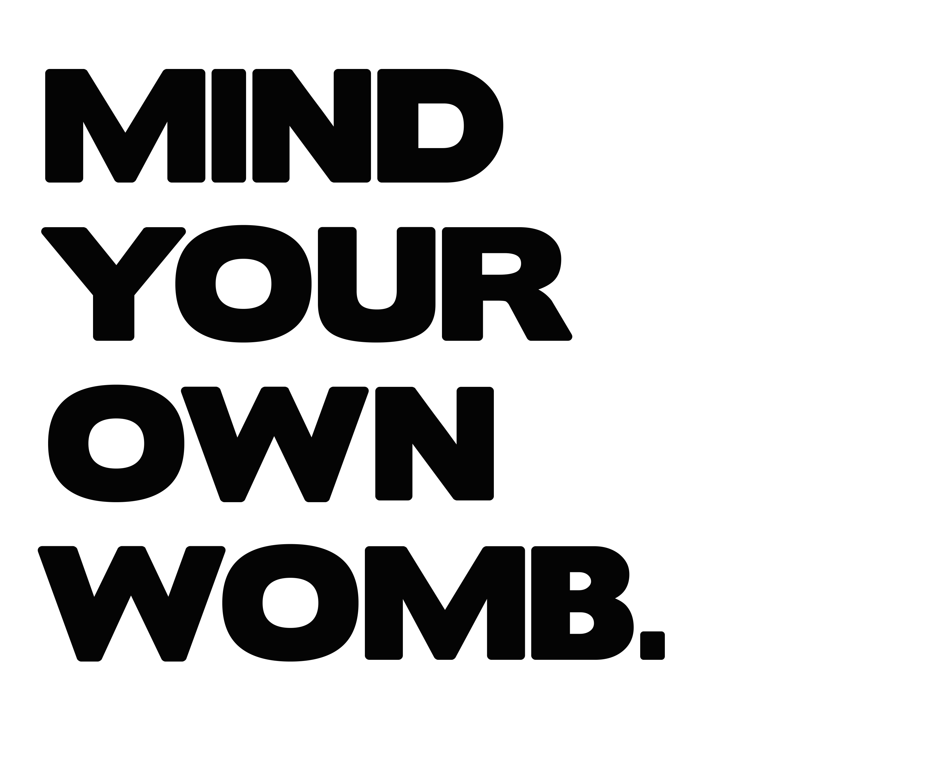 Walk_Mind Your Own Womb