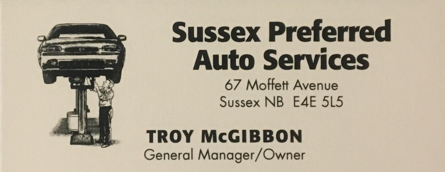 Sussex Preferred Auto Services