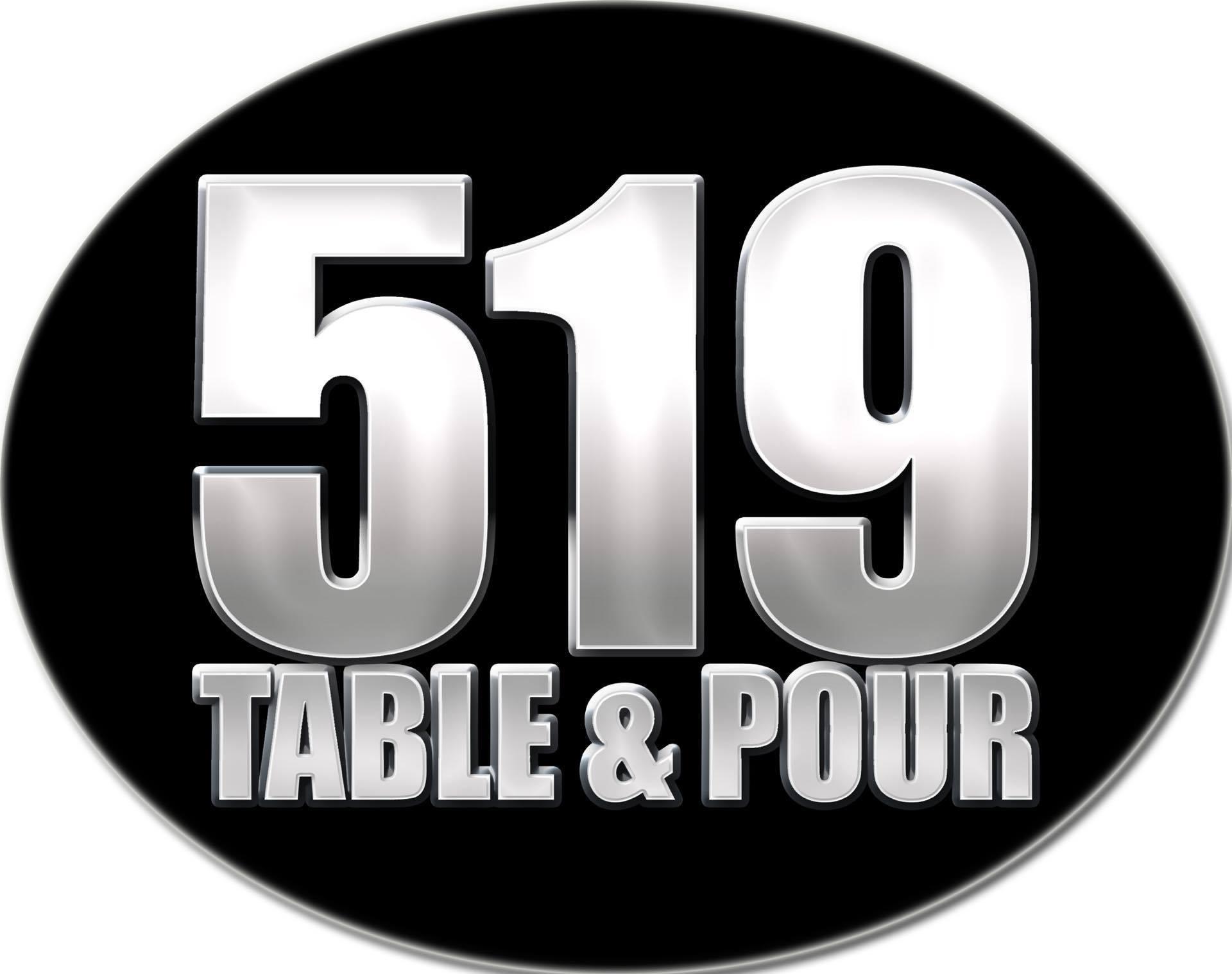 519 Table & Pour