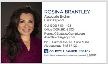 Rosina Brantley, Associate Broker, REALTOR(R)