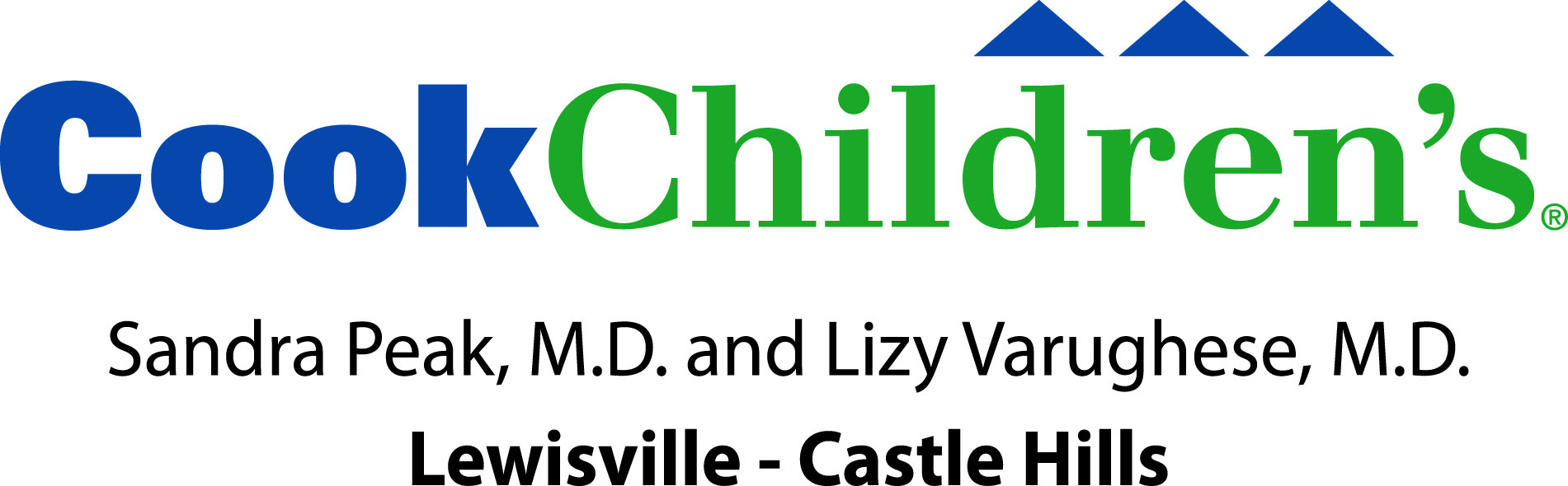 Cook Children's Lizy Varughese; M.D. and Sandra Peak; M.D.