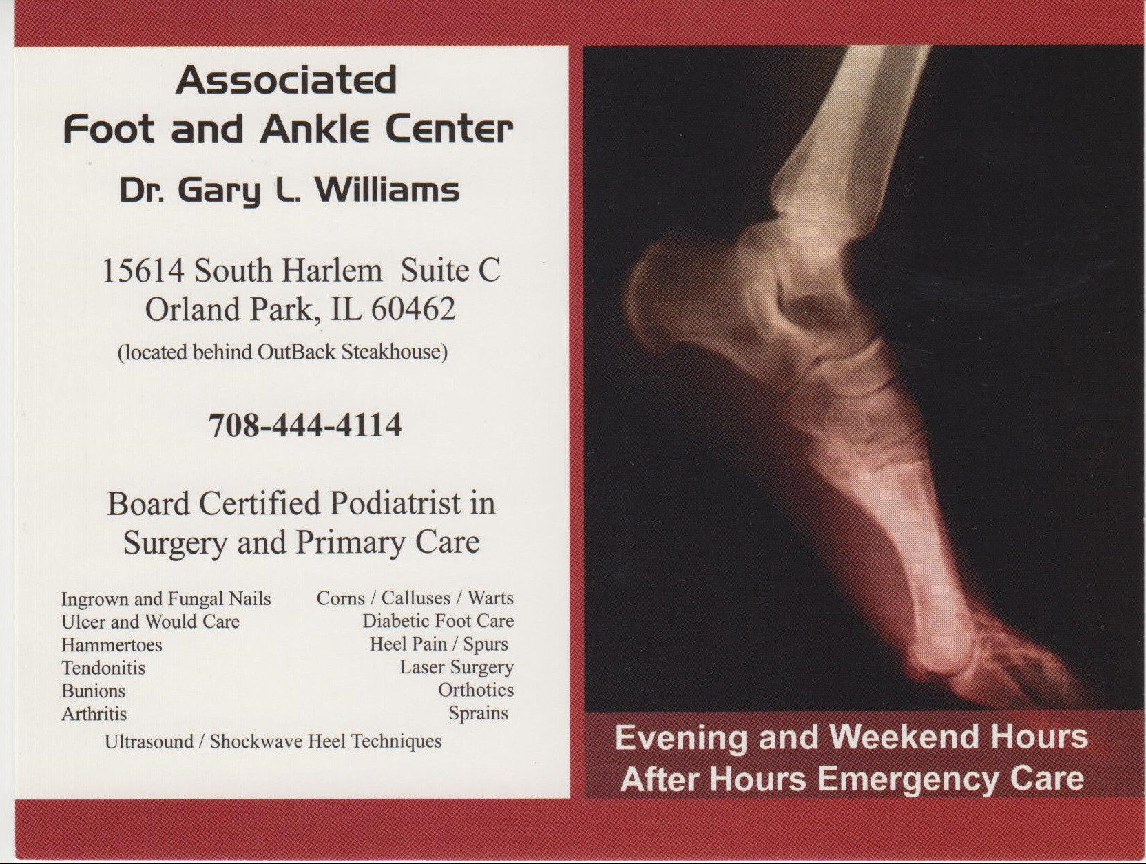 Associated Foot and Ankle Center
